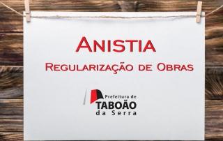 Anistia Regularização de Obras Taboão da Serra